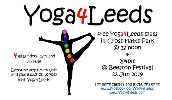 Free Yoga Slass, Beeston Festival